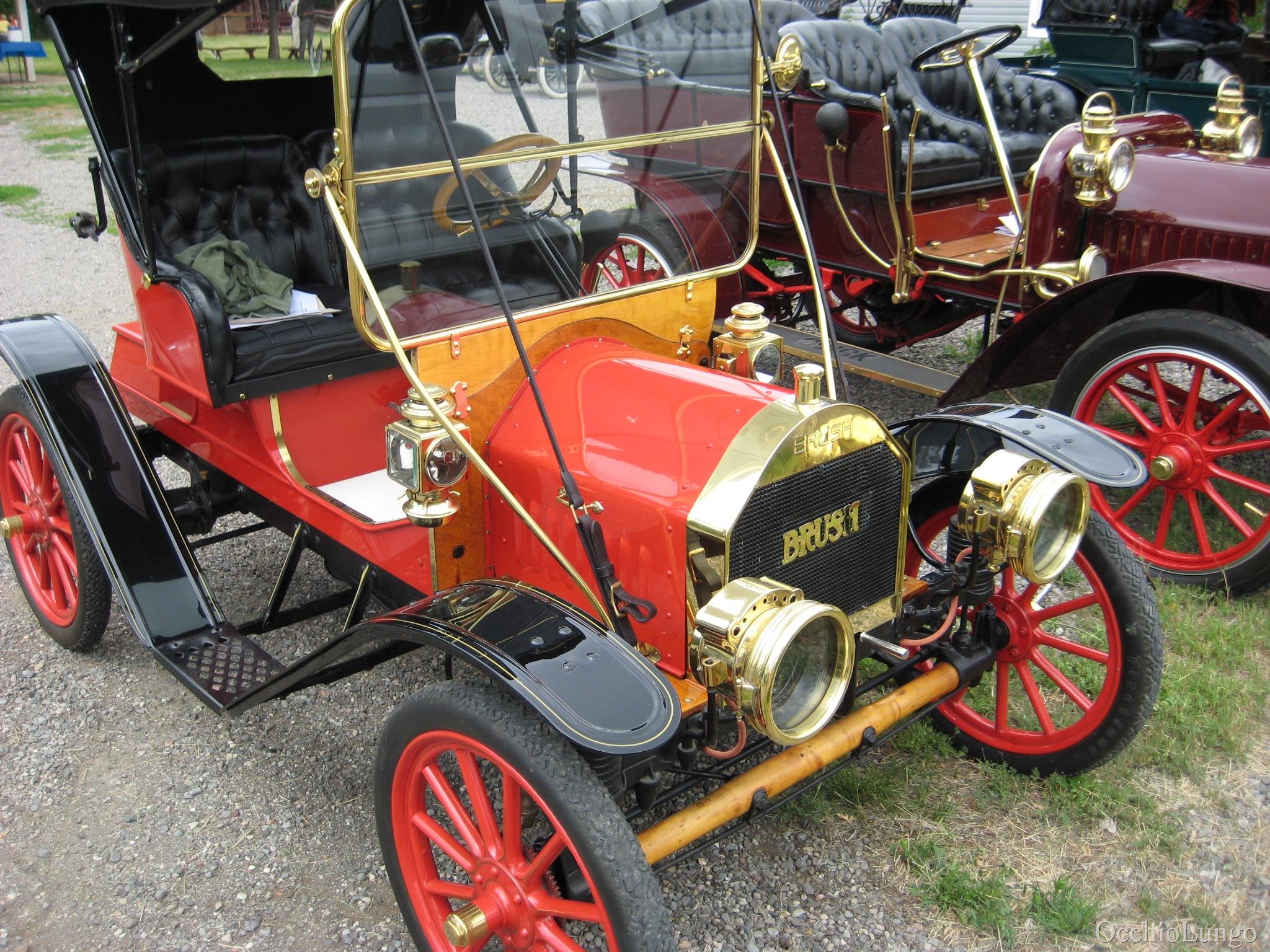1909 Brush Single Cylinder Car Occhio Lungo