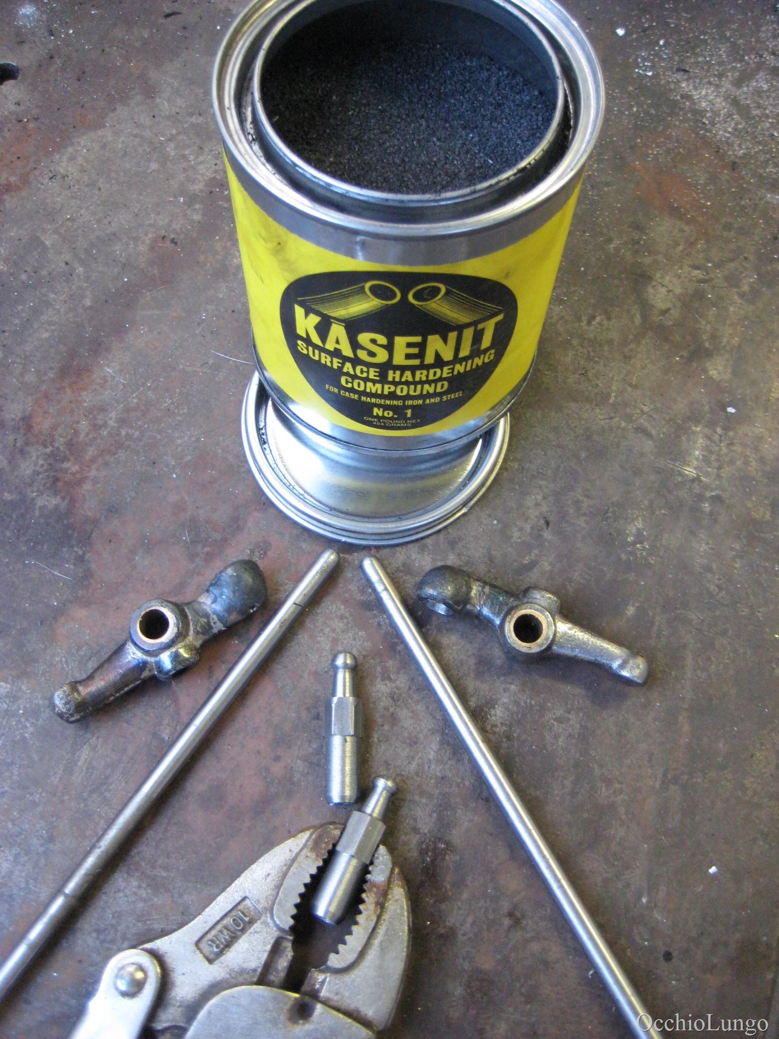 Case hardening compound powder Kasenit