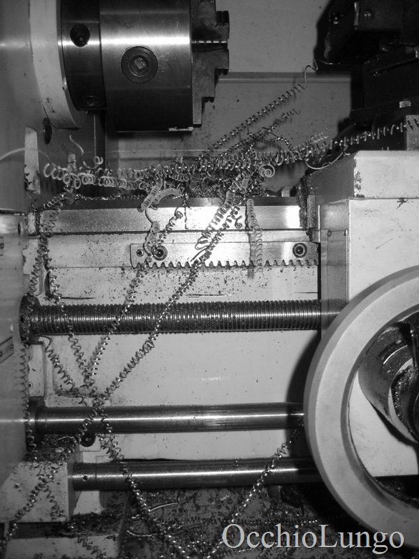 lathe and swarf