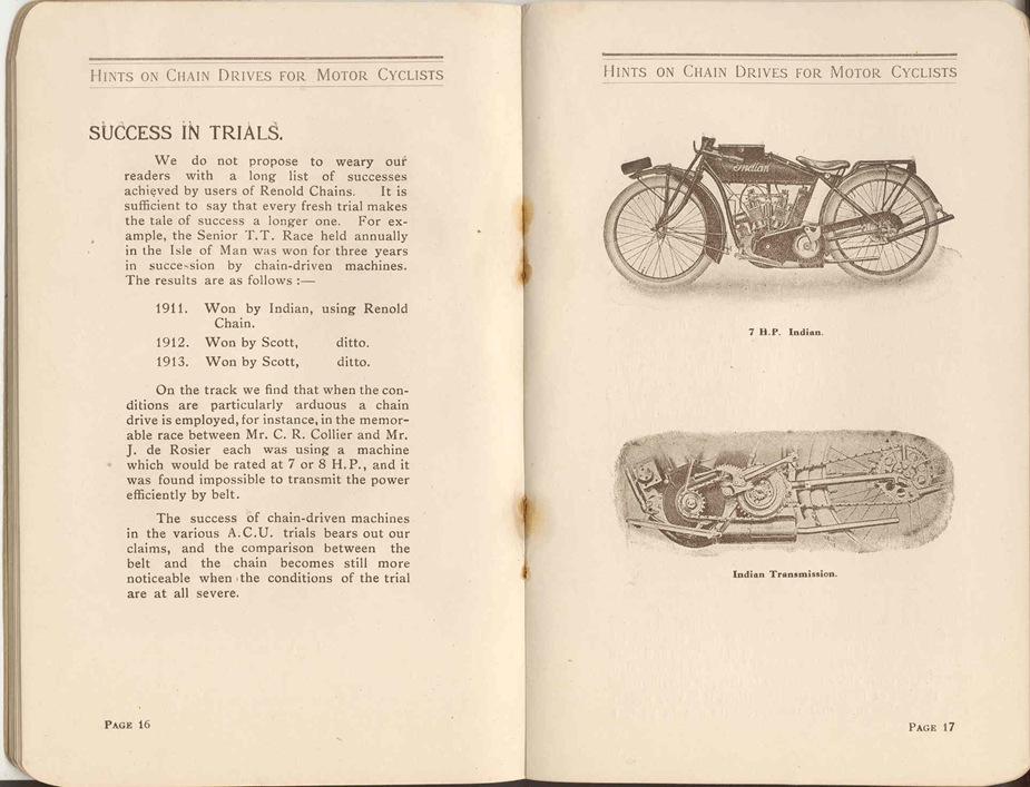 Renold Chain 1917 11