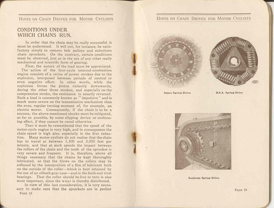 Renold Chain 1917 12