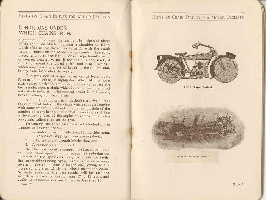Renold Chain 1917 13