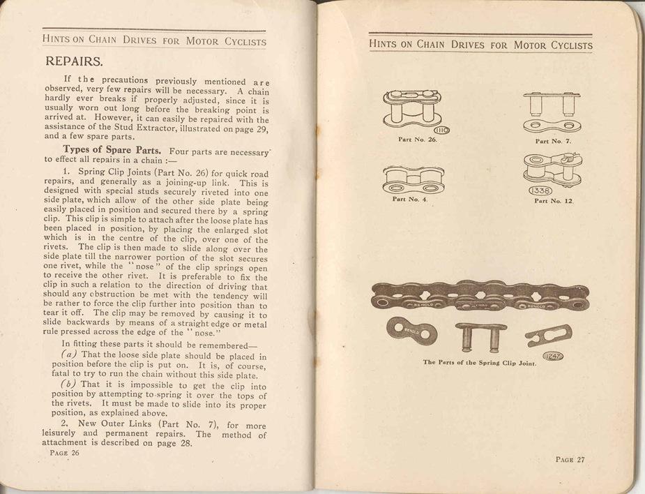 Renold Chain 1917 16