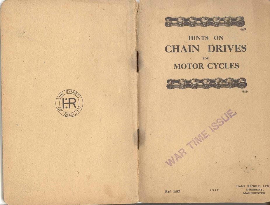 Renold Chain 1917 1