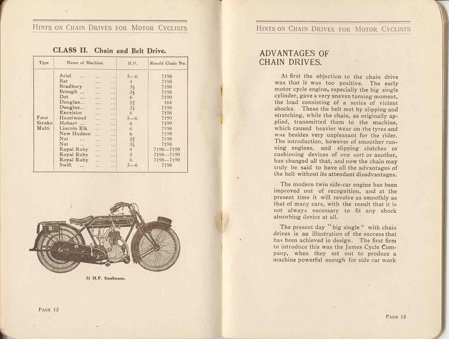 Renold Chain 1917 9
