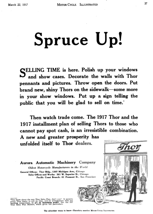 spruce up THOR