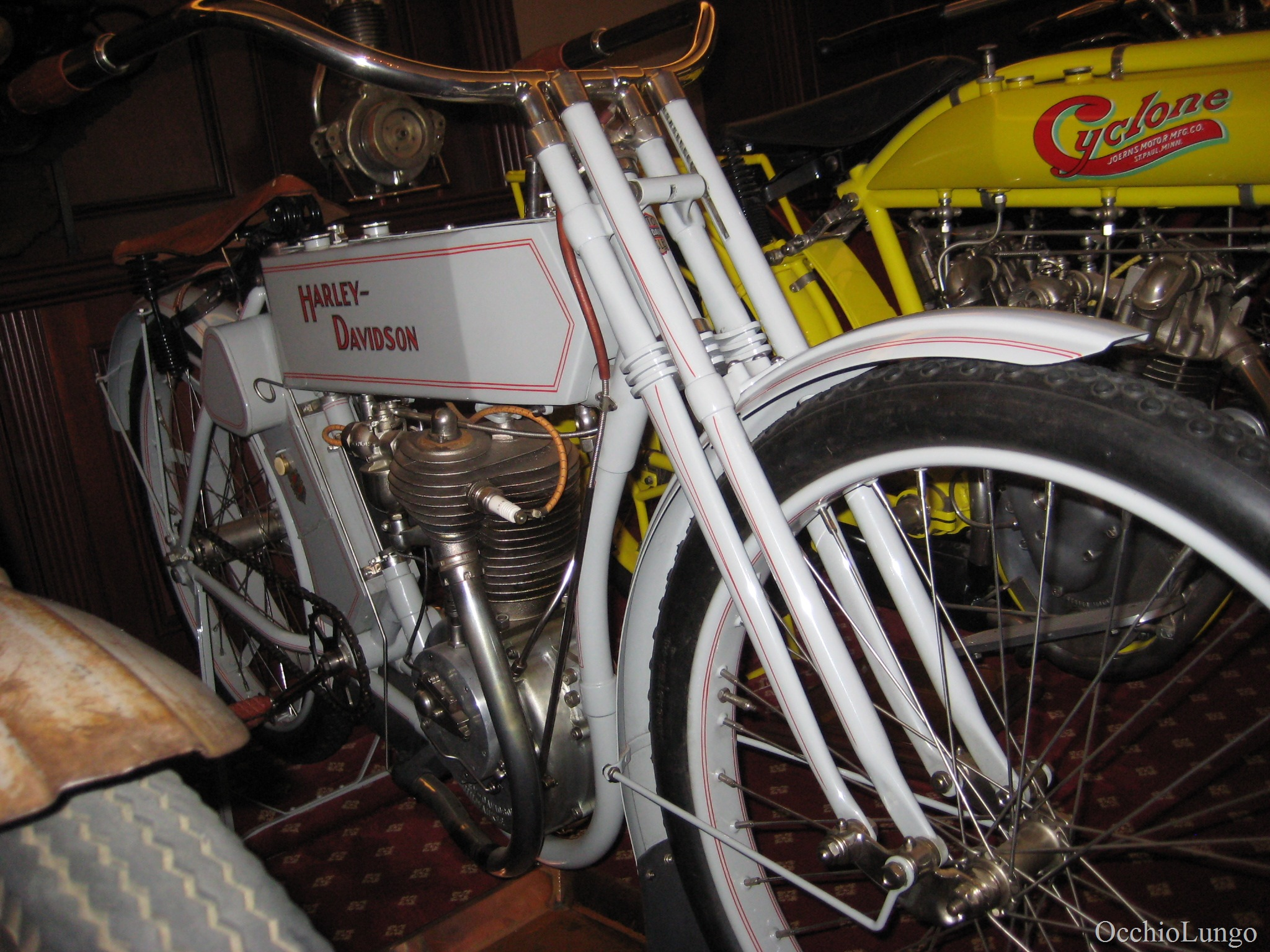 Some Old Motorbikes Occhio Lungo