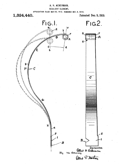 Ackerman patent 1324440