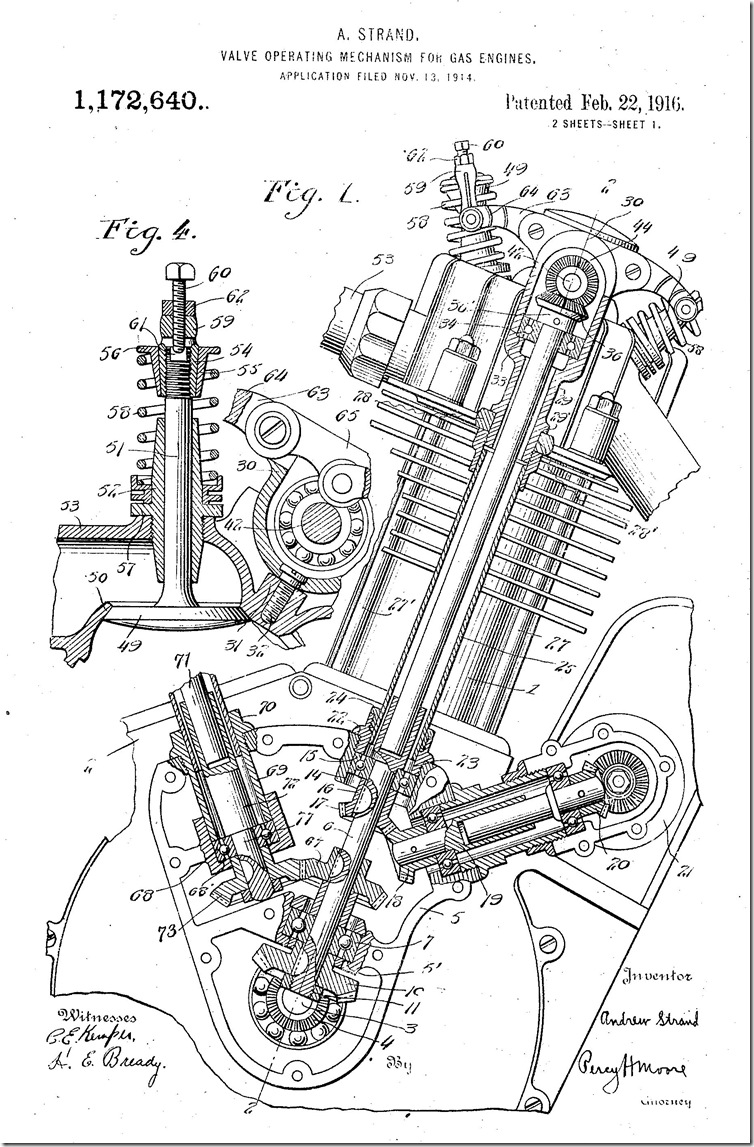 patents  3  ohc  chevy and cyclone