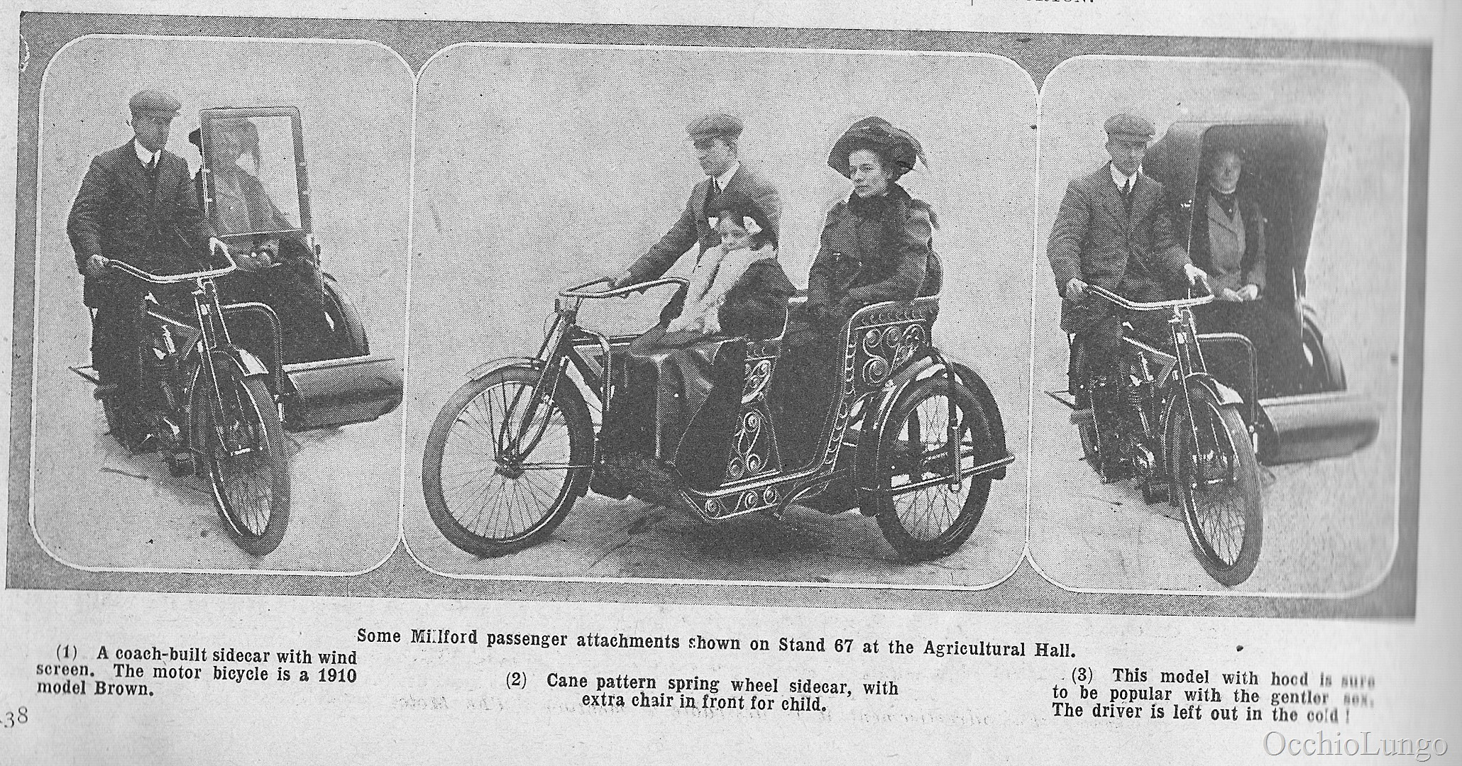 Wicker Sidecars | Occhio Lungo