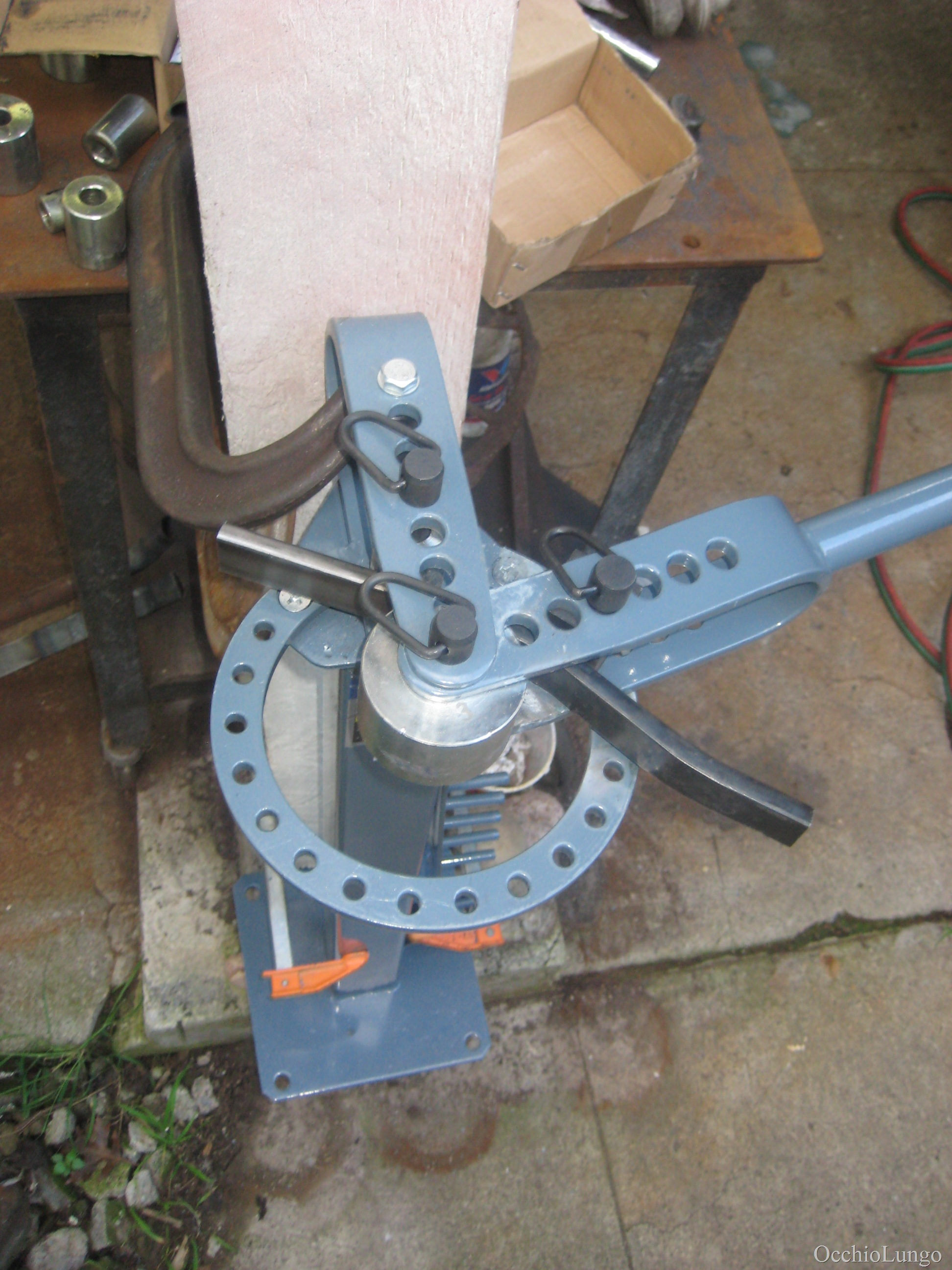 How To: rear frame fabrication | Occhio Lungo