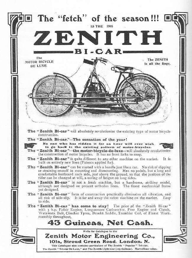 Zenith Bi Car