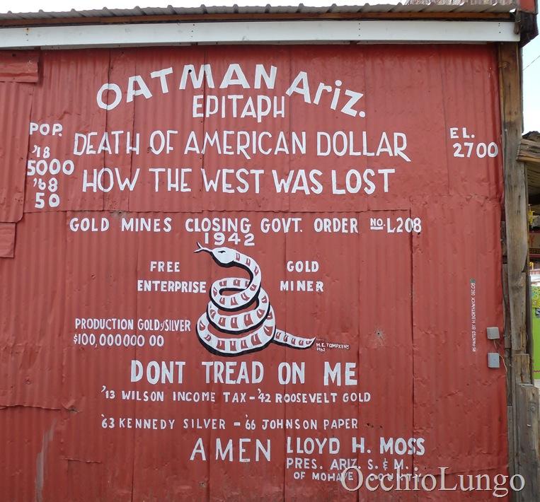 Oatman building
