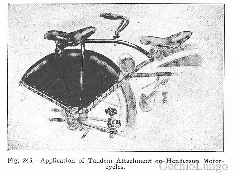 1916 Henderson pillion