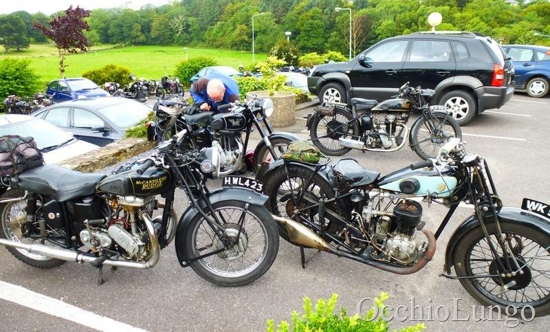 a few bikes