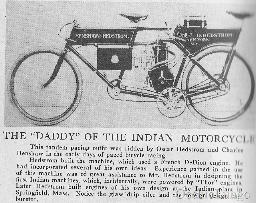 early Indian with seats