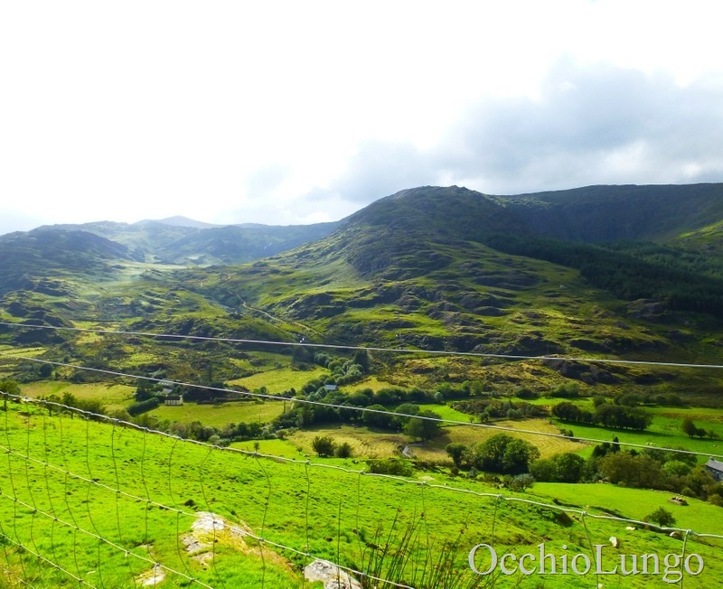 Irish Mountains view