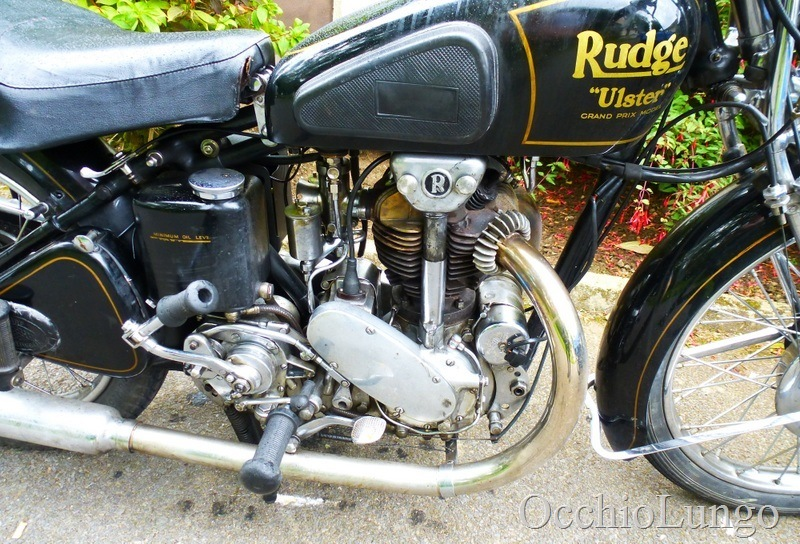 Rudge chrome