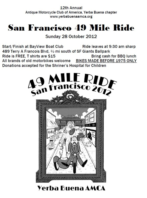 49 Mile ride flyer