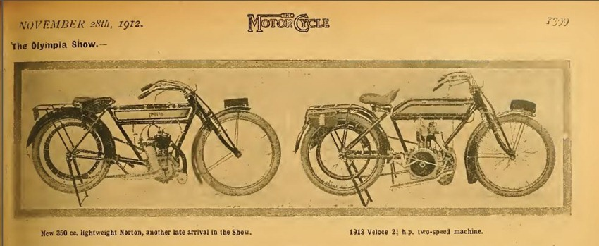 1912 11 28 Veloce and Norton