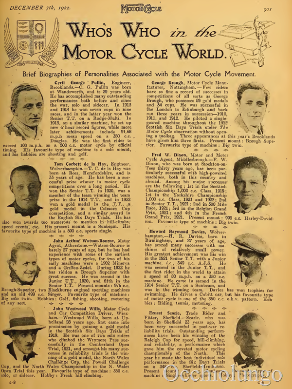 whos who 1922