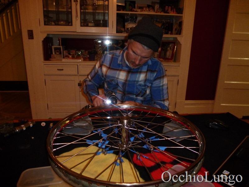 lacing wheel