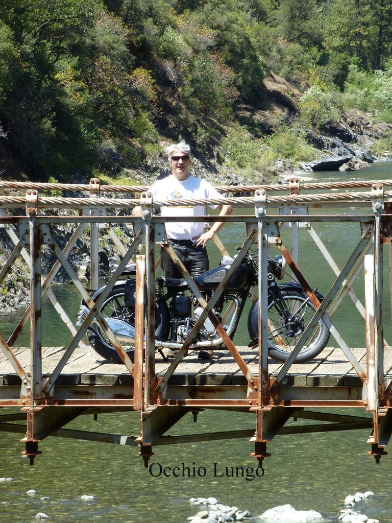 pete on bridge