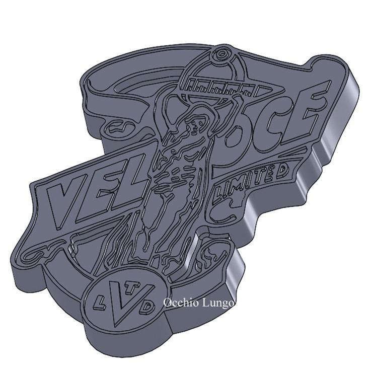 veloce logo casting