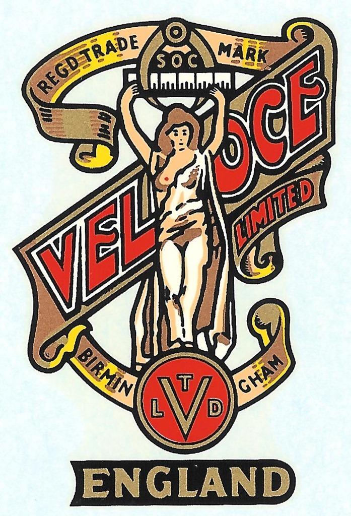Velocette Naked Lady