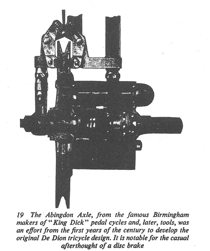 first disc brake