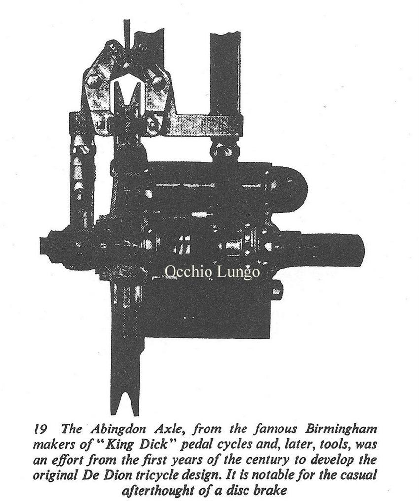 first-disc-brake