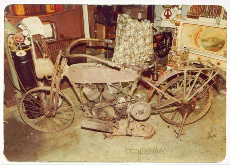 1915 Harley before